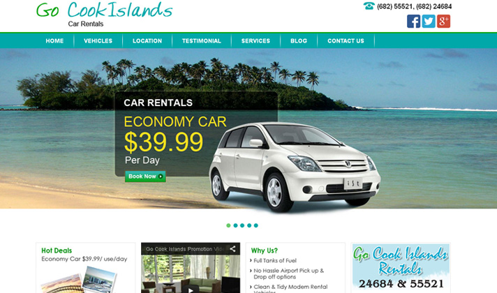 Go Cook Islands Car Rentals