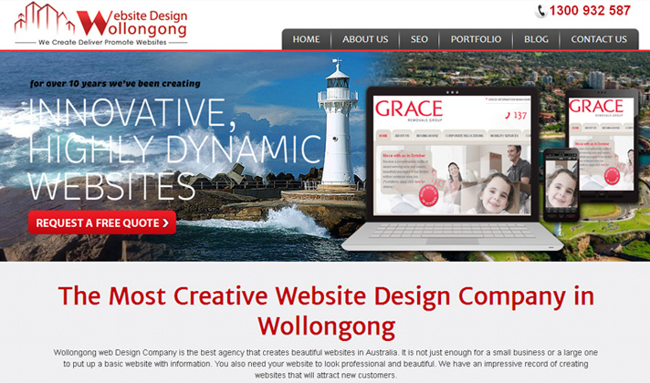 Website Design Wollongong