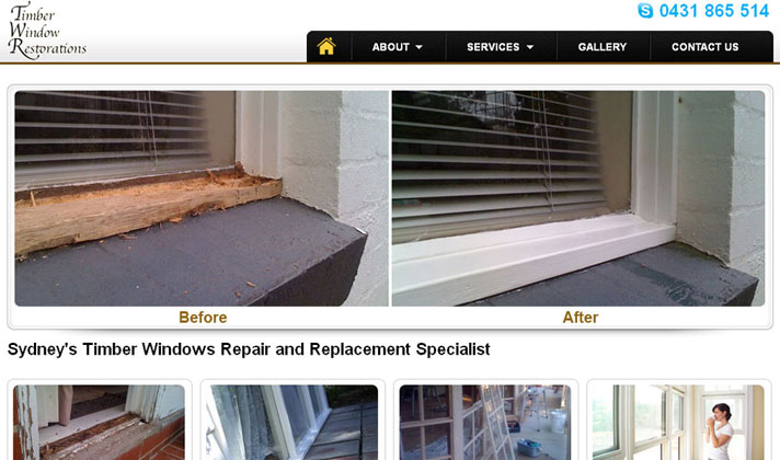 Timber Window Repairs Sydney
